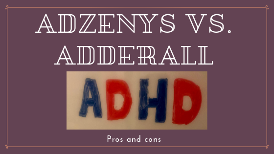 11 Key Adzenys vs Adderall Pros and Cons - Best Rx For Savings