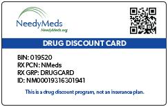 Drug Discount Card   NeedyMeds