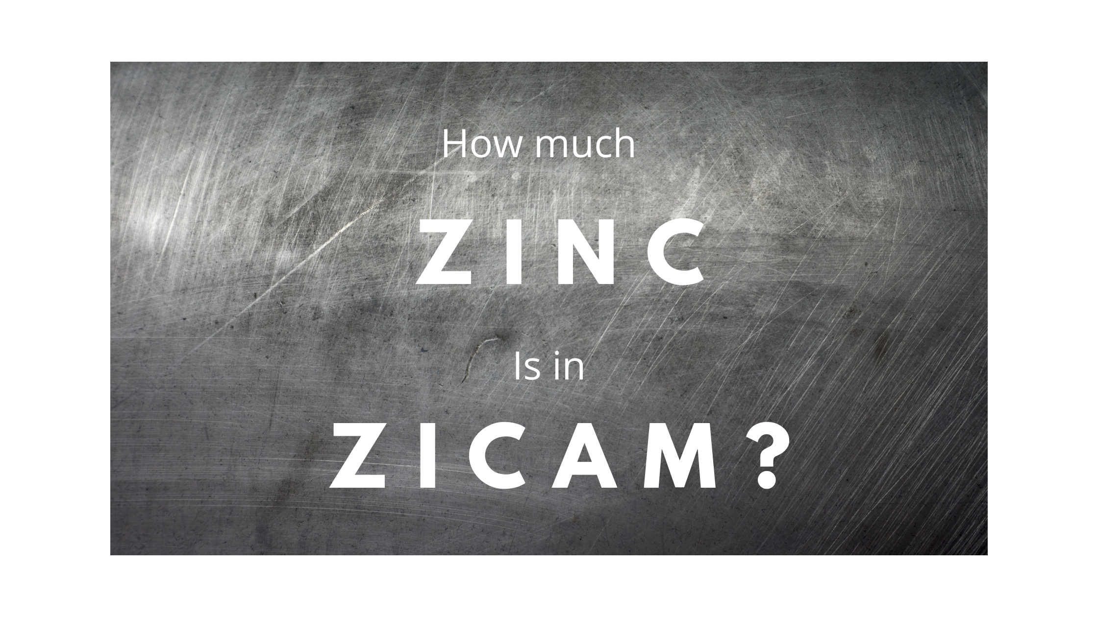 How much zinc is in zicam