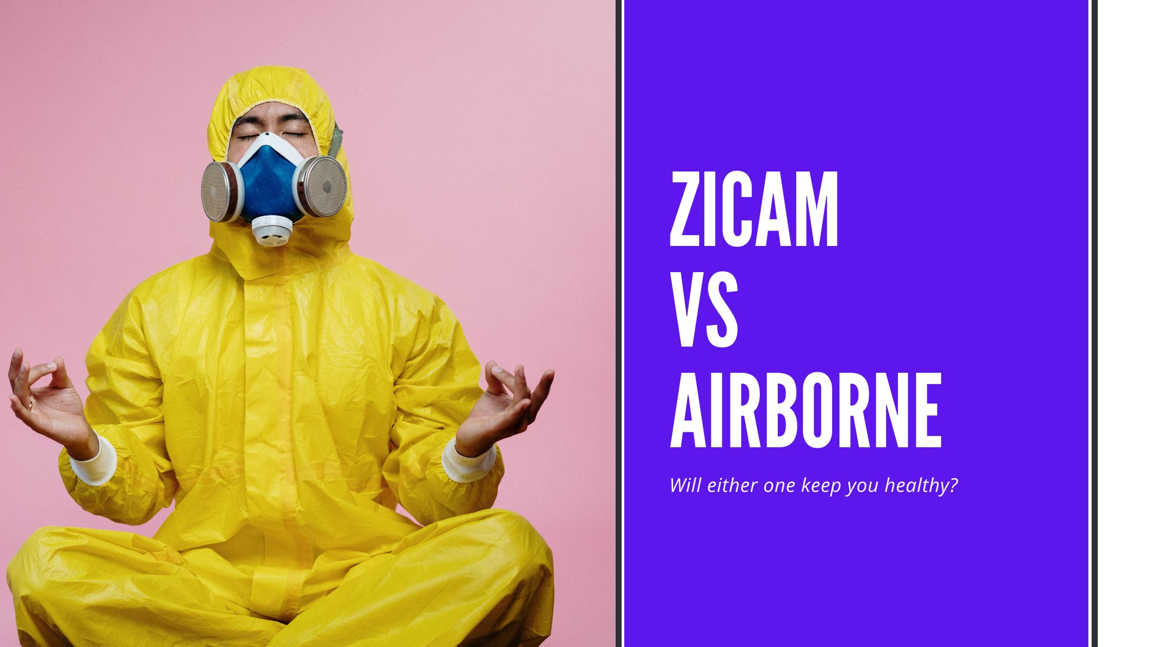 Zicam vs Airborne