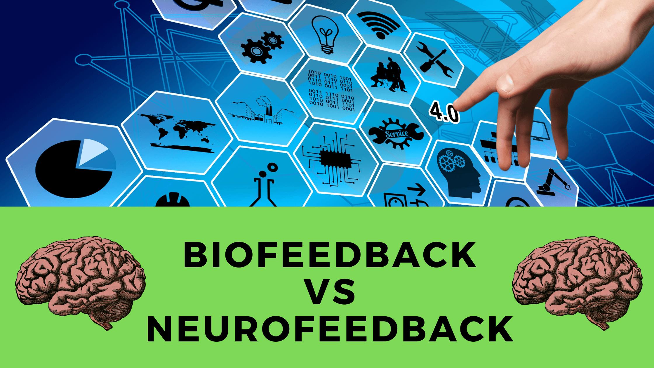 Biofeedback device brain neurofeedback