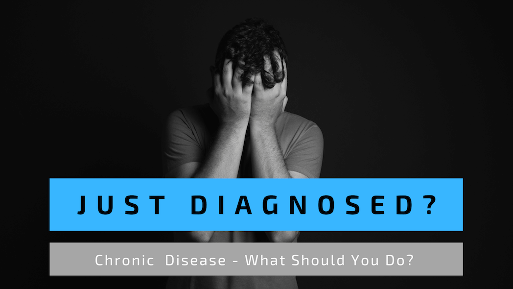 Person upset by diagnosis