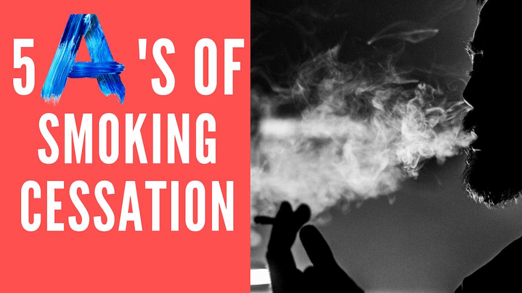 Man holding cigarette blowing smoke